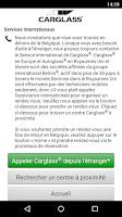 Screenshot of Carglass® BE