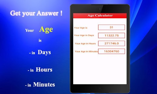 Age Calculator- screenshot thumbnail