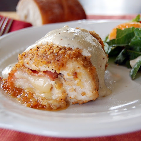 Champagne Chicken Cordon Bleu