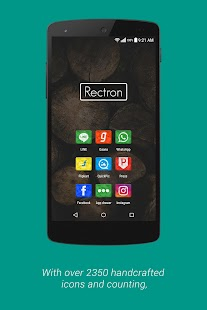 Rectron Apex/Nova Icon Theme- screenshot thumbnail