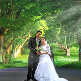 Post Nuptial Edited by Hanzel Lacida - Wedding Bride & Groom