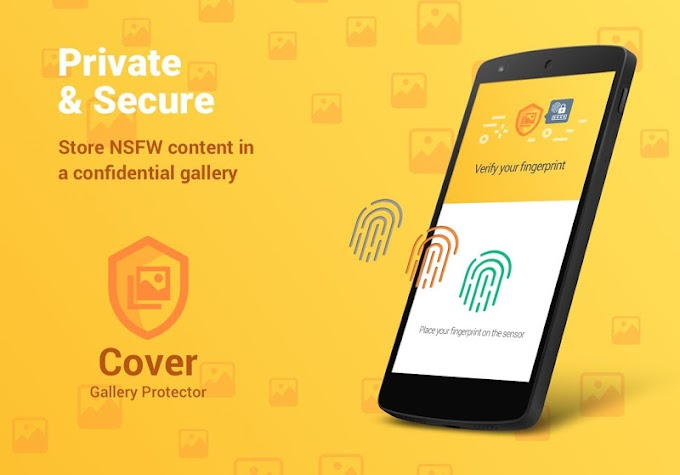 Cover: Auto NSFW Scan & Secure Private Gallery Screenshot