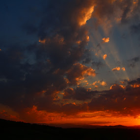 Perfect timeing by Flaviu Negru - Landscapes Sunsets & Sunrises