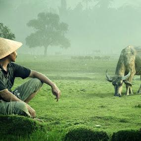 gembala by Chegu Diman - People Portraits of Men ( diman, interest, rol, chegu, human )