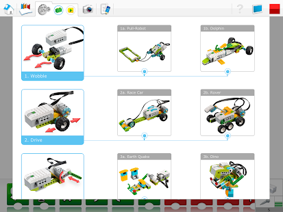 LEGO® Education WeDo 2.0 START - screenshot