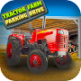 Tractor Farm Parking Drive
