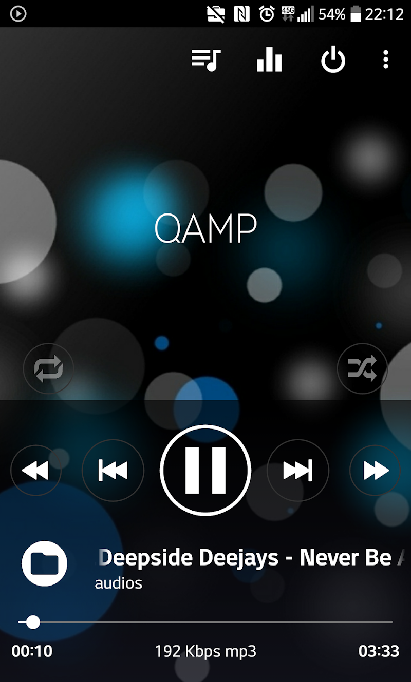 Mp3 player - Qamp Screenshot 2