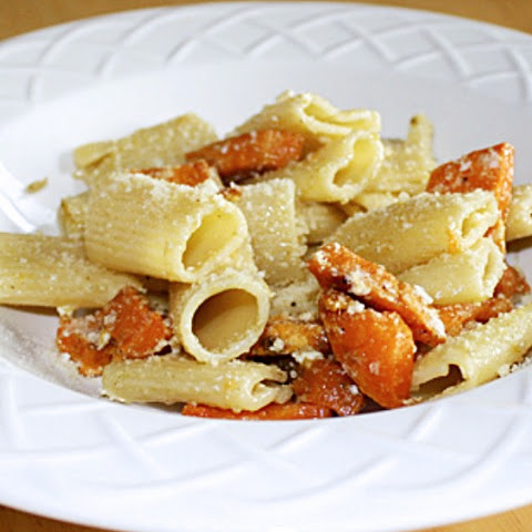 Pasta with Roasted Sweet Potato & Feta
