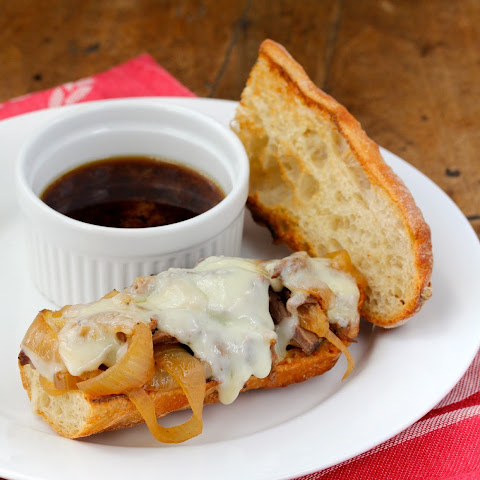 Slow Cooker French Dip Sandwich with Au Jus