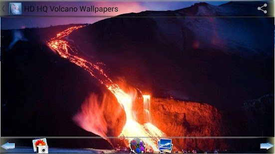 HD HQ Volcano Wallpapers - screenshot