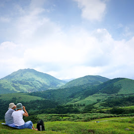 Take a deep breath by YI HSING CHOU - Landscapes Mountains & Hills (  )