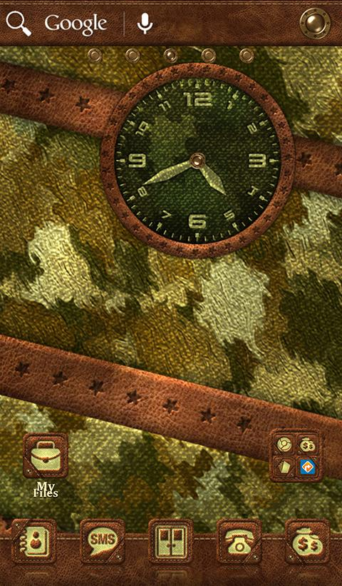 TSF NEXT NOVA CAMOUFLAGE THEME Screenshot 4