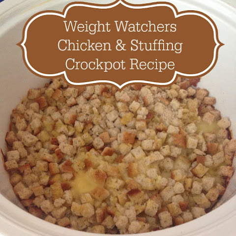 Weight Watchers Chicken and Stuffing Crockpot
