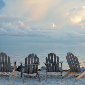 Tranquility by Beth Bowman - Artistic Objects Furniture ( adirondack chairs,  )