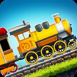 Fun Kids Train Racing Games Icon