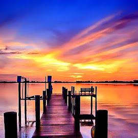 Pastel Shores by Diane Ljungquist - Landscapes Sunsets & Sunrises (  )