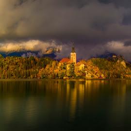Lake Bled by Beno Medic - Landscapes Sunsets & Sunrises
