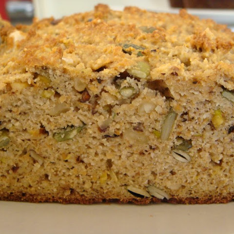 Nutty Bread (Gluten Free)