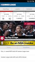 Screenshot of NBA 2014-15