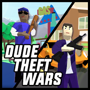 Dude Theft Wars: Open World Sandbox Simulator BETA For PC (Windows & MAC)