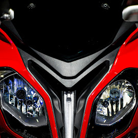 Ice and Fire by Sarang Bhagat - Transportation Motorcycles ( #superfast, #bikes, #super, #sexy, #bmw, #head, #red, #motorbikes, #motorbike )
