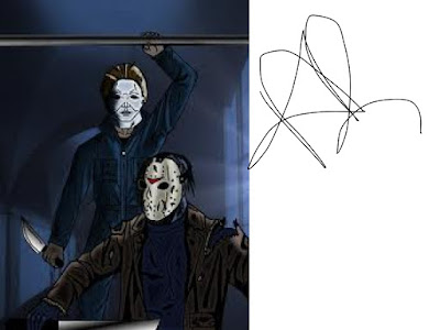 Michael Myers Vs Jason Voorhees By Drawing KINGDOM
