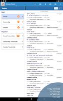 Screenshot of Aconex Mobile