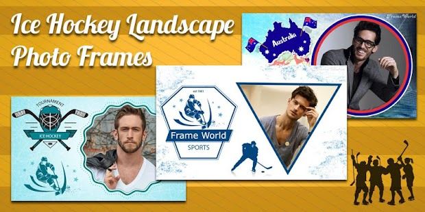 Hockey Photo Frame World - screenshot