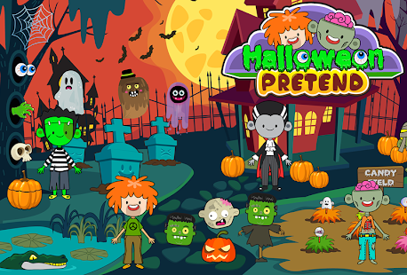 My Pretend Halloween - Trick or Treat Friends FREE for pc