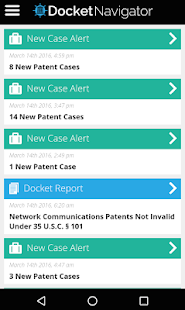 Docket Navigator - screenshot