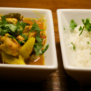 Flu Fighting Fish Curry