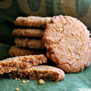 Peanut Butter Cookies (Shhh...don't tell anyone they're gluten-free, 'cause no one can tell!)