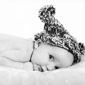 Peeking by Sarah Thew - Babies & Children Children Candids