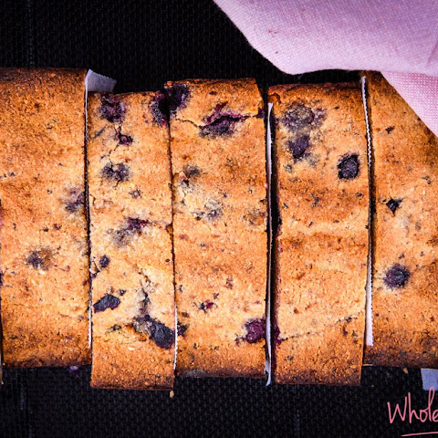5 Ingredient Blueberry and Banana Bread