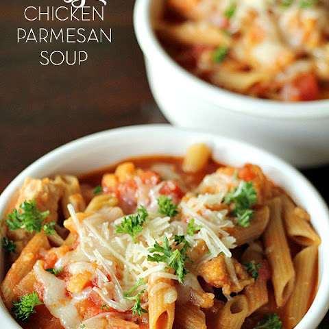 Easy Chicken Parmesan Soup