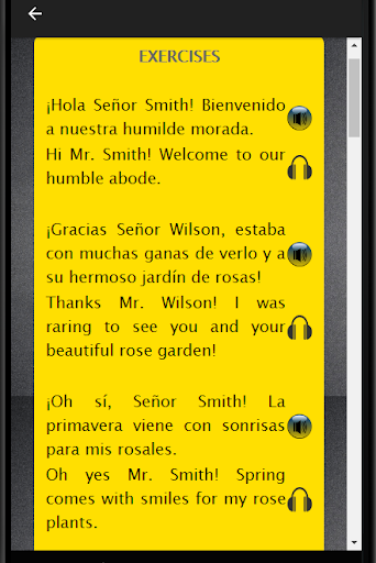 Spanish to English Speaking: Aprende Inglés Rápido screenshot 10