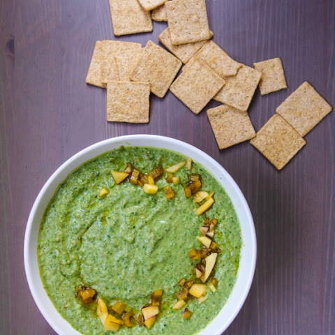 Swiss Chard Hummus (with Pickled Chard Stems)