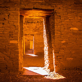 Doors  by Jan Irons - Buildings & Architecture Public & Historical ( chaco, puebloan, doorway, ancient civilizations, jansirons,  )