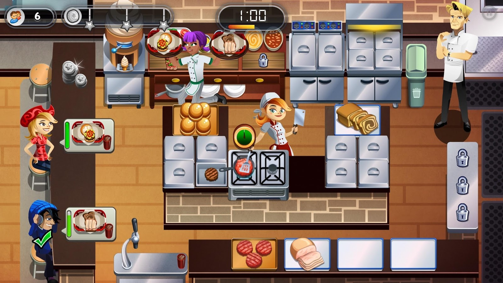 RESTAURANT DASH, GORDON RAMSAY Screenshot 15