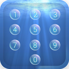 AppLock Theme Bubble