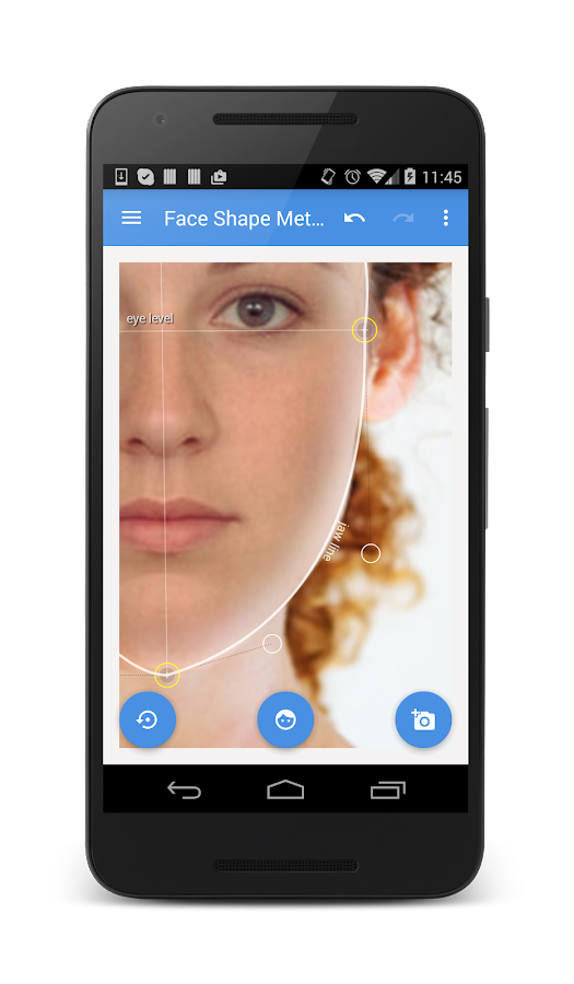 My Face Shape Meter Screenshot 1