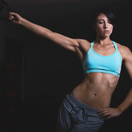 Poised by Jay Schwenk - Sports & Fitness Fitness