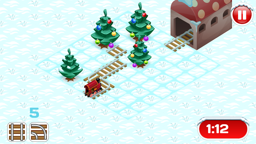 android Xmas Railway Screenshot 0
