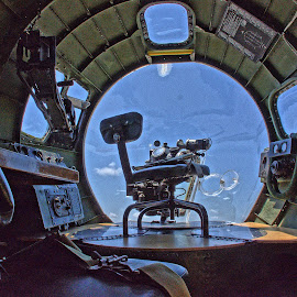 B-17 by Ray Ebersole - Transportation Airplanes