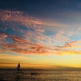 Ampenan, sunset, Lombok, NTB by Muhamad  Majedi - Landscapes Beaches ( #woderfulllombik #xplorelombok )