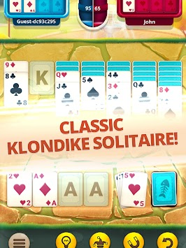 Solitaire Pets – Multiplayer Klondike Card Game apk screenshot