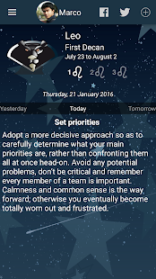 APK App My Horoscope for BB, BlackBerry