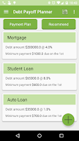 Screenshot of Debt Payoff Planner