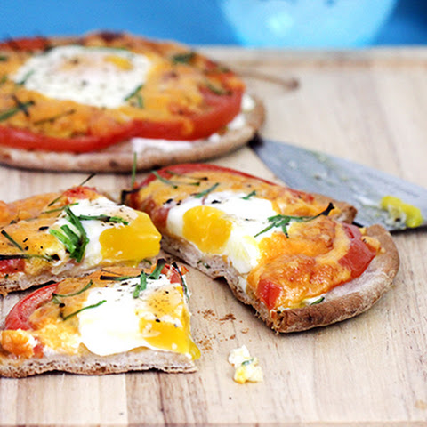 Florida Fresh Tomato & Chives Breakfast Pitas