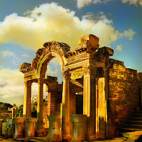 Ephesus by Vincentius Hioe - Buildings & Architecture Public & Historical ( ephesus, turkey )